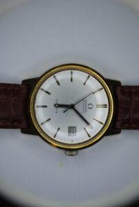 Omega genève automatic wristwatch face