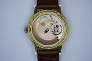 Omega genève automatic wristwatch back