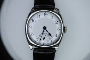 Zenith manual stainless steel wrist watch close