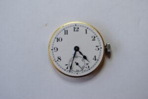 Zenith manual stainless steel wrist watch  face