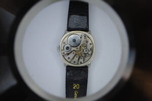 Roamer cushion cased manual wrist watch back