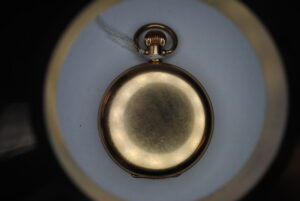 Waltham gold plated full hunter pocket watch
