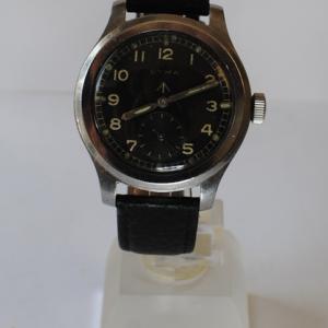 Cyma 'Dirty Dozen' British Military stainless steel wrist watch