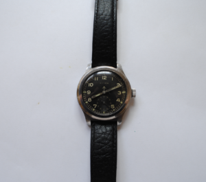 Cyma 'Dirty Dozen' British Military stainless steel wrist watch full