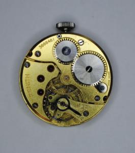 Zenith manual stainless steel wrist watch back
