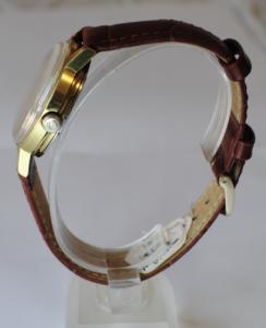 Omega genève automatic wristwatch side